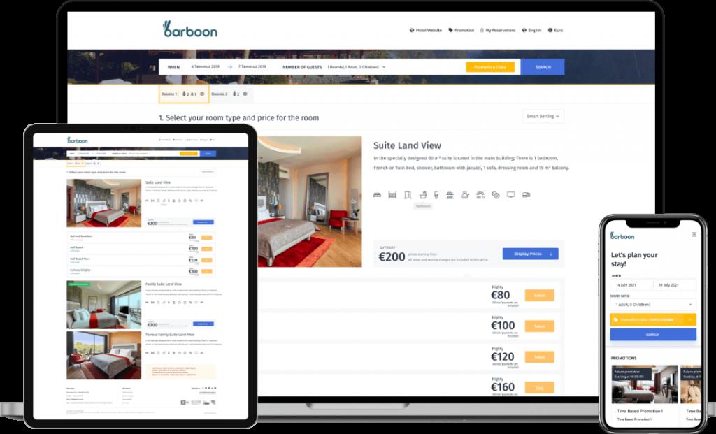 internet booking engine